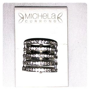 Michaela Currone cocktail ring NWT size 8